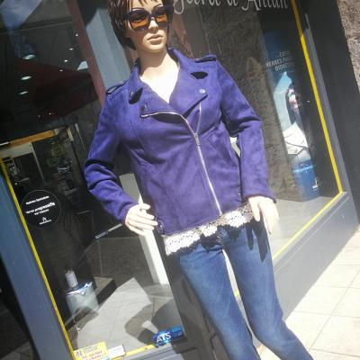 Jean style paperbag taille haute